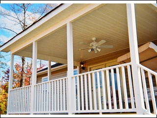 Maintance-Free Covered Porch